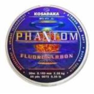 Леска флюорокарбоновая PHANTOM 50м 0,168 (Kosadaka)