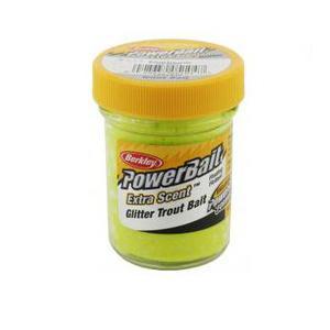 "Форелевая паста ""Berkley"" Glitter Trout Bait (Chartreuse) 50гр"