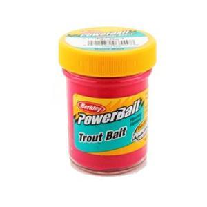 "Форелевая паста ""Berkley"" Biodegradable Trout Bait (Fluorescent Red) 50гр"