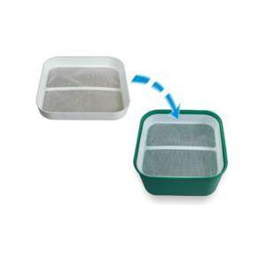 Сито 15х15см для контейнера (1,2L или 1,8L) для промывки мотыля Stonfo