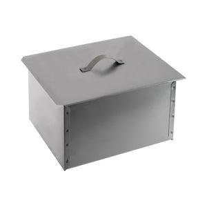 Коптильня металл. дв/я. 38х28х27 (Рыбинск)