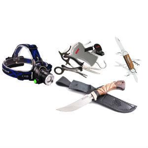 Инструменты, ножи, фонари