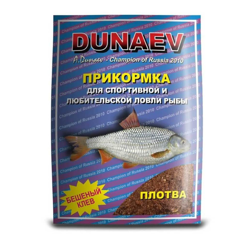 Прикормка DUNAEV СТАНДАРТ 0.9кг Плотва