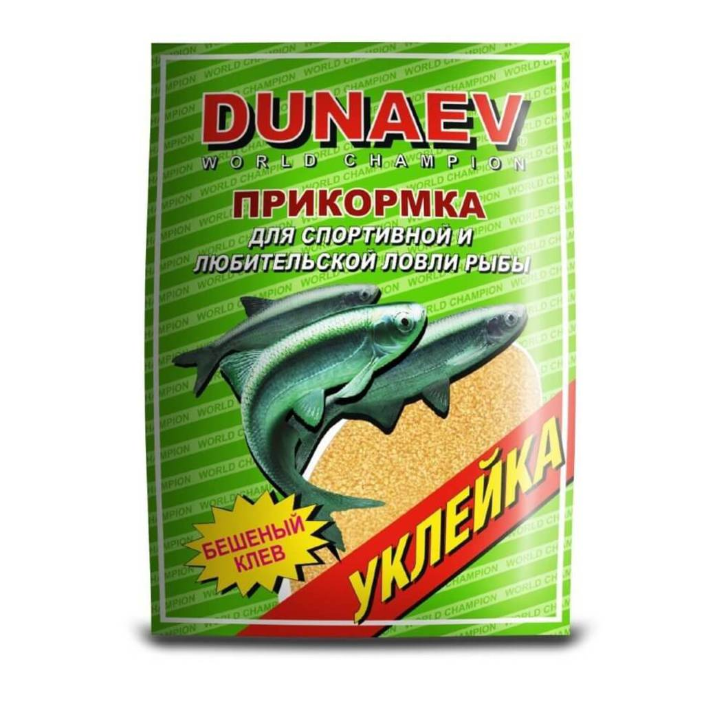 Прикормка DUNAEV СТАНДАРТ 0.9кг Уклейка