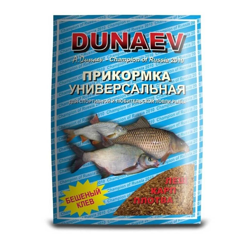 Прикормка DUNAEV СТАНДАРТ 0.9кг Универсальная